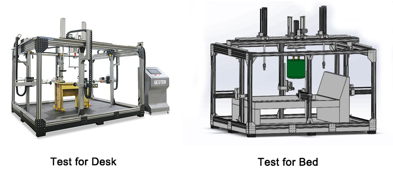 Furniture Universal Testing Machine For Desk And Bed